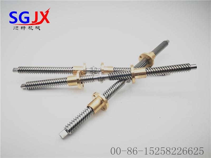 生产定制正反牙 梯形丝杆螺杆